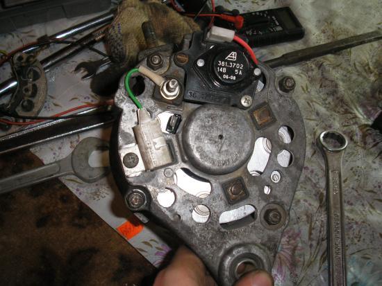 Ремонт генератора ваз 2106 своими руками