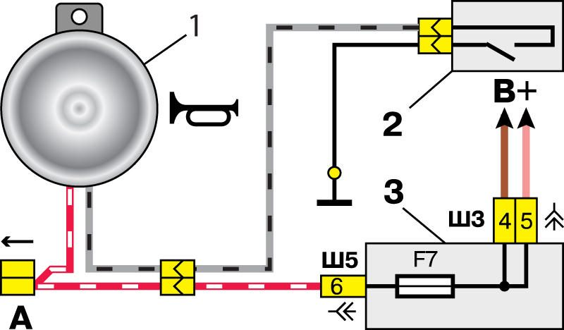 Схема сигнала ваз 2114 на руле