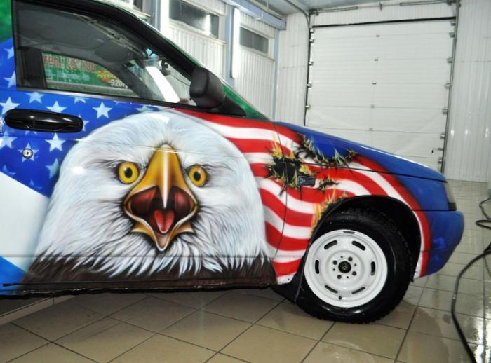 офигевший американский орел
