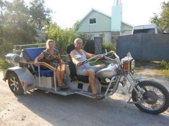 деревенский трицикл